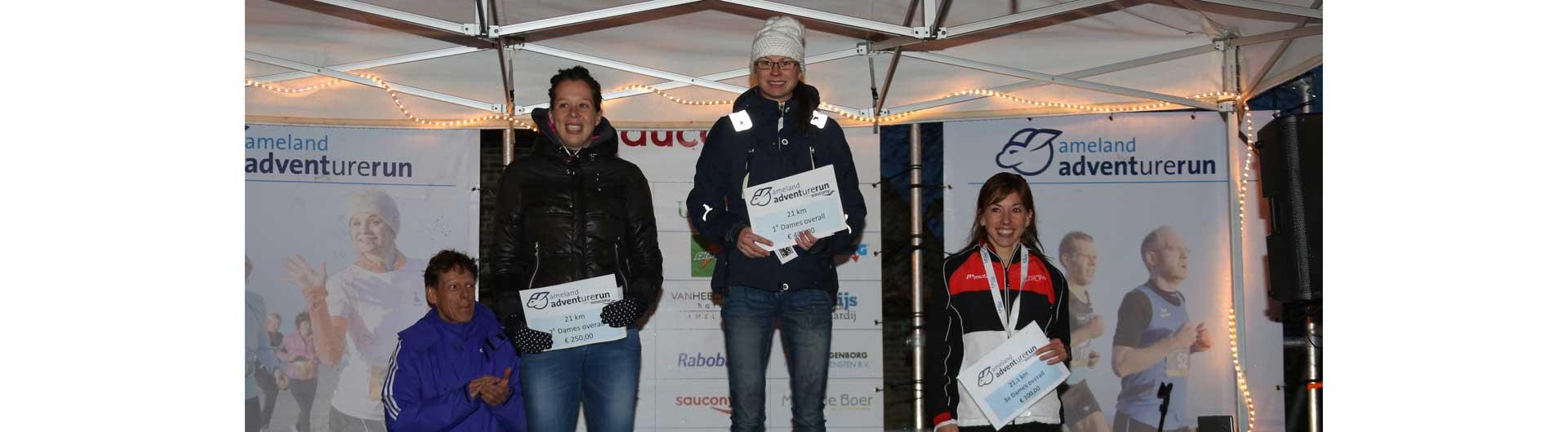 Ameland Adventurerun persbericht: winnaars 12e editie