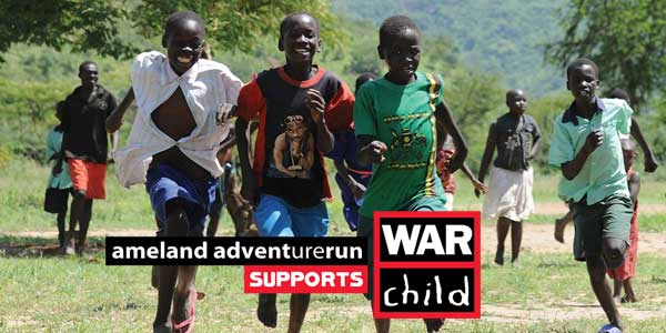 Ameland Adventurerun 2019 supports War Child