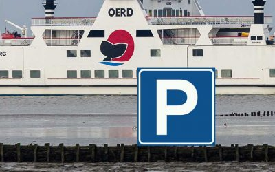 Parkeren op de pier bij Holwerd beperkt