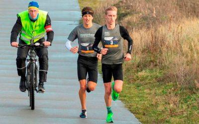 Frank Futselaar en Saskia Weinans winnen stormachtige 16de  Ameland Adventurerun